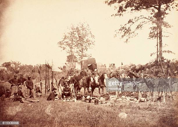 Company I 6th Pennsylvania Cavalry Regiment Reserve Brigade First Division Cavalry Corps Army of the Potomac known as Rush's Lancers for their...