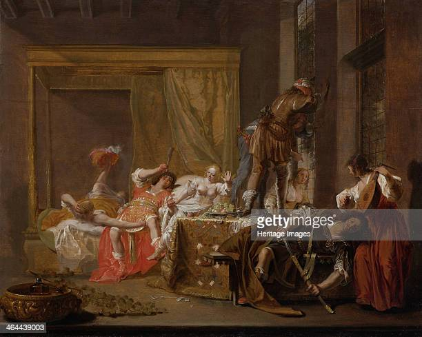 Company in a Brothel 1655 Found in the collection of the Rijksmuseum Amsterdam