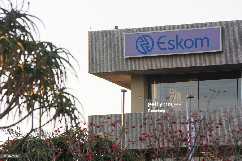A company logo is displayed on the Eskom Holdings SOC Ltd