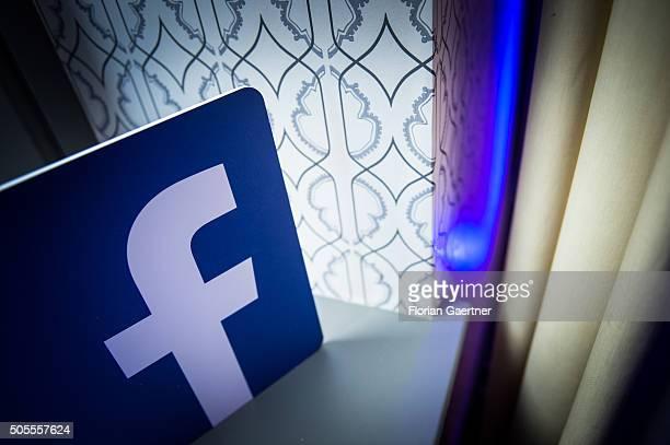 Company Logo of the Social Media Network Facebook on January 18 2016 in Berlin Germany
