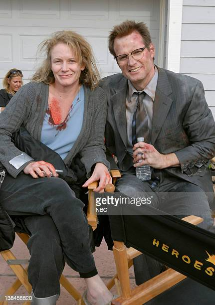 HEROES 'Company Man' Episode 17 Aired 2/26/07 Pictured Ashley Crow as Sandra Bennet Jack Coleman as Mr Bennet/HRG