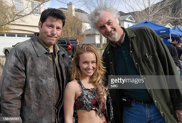 HEROES 'Company Man' Episode 17 Aired 2/26/07 Pictured Greg Grunberg as Matt Parkman Hayden Panettiere as Claire Bennet director Allan Arkush