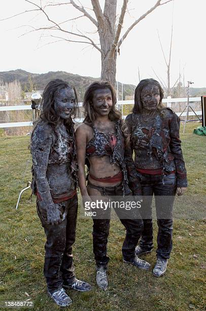 HEROES 'Company Man' Episode 17 Aired 2/26/07 Pictured Hayden Panettiere as Claire Bennet with her stunt doubles