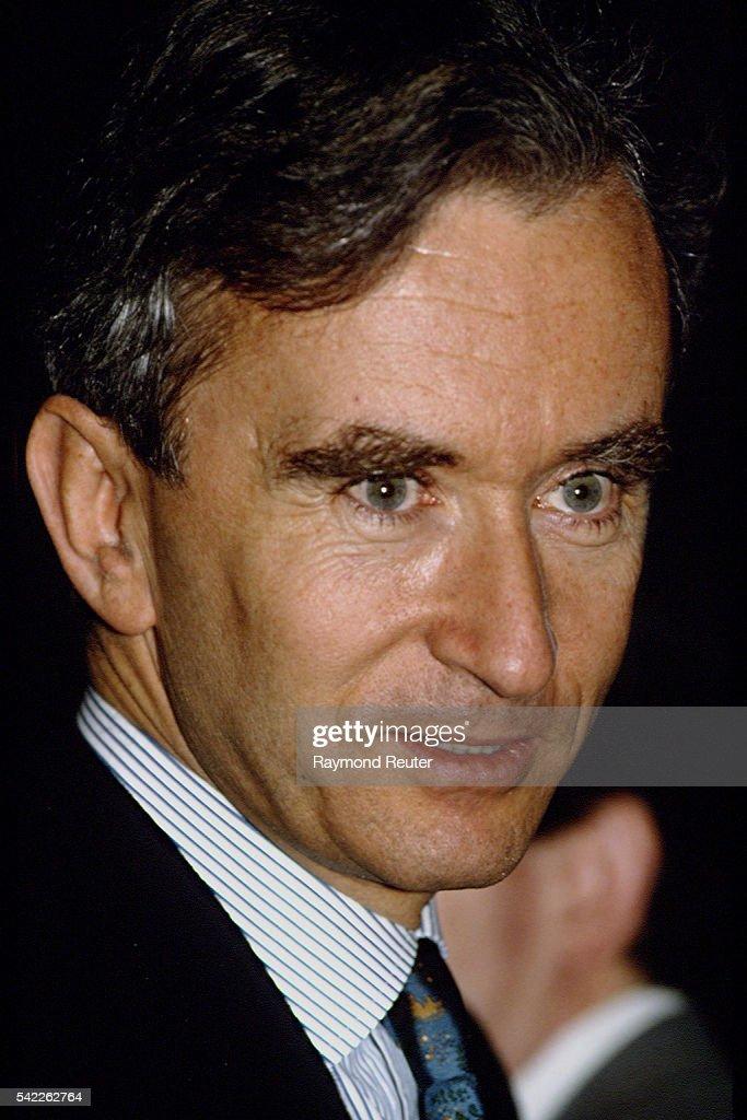 Company President Bernard Arnault : News Photo