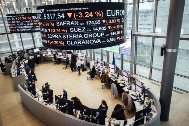 FRA: Euronext NV Trading As European Stocks Head For Worst Week Since 2008 On Virus Woes