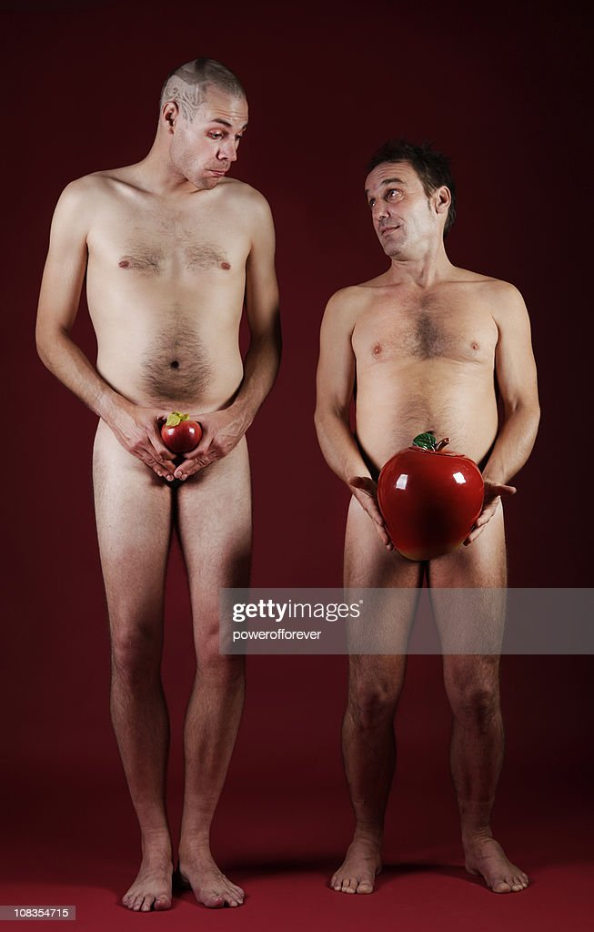 Comparing Apples : Stock Photo