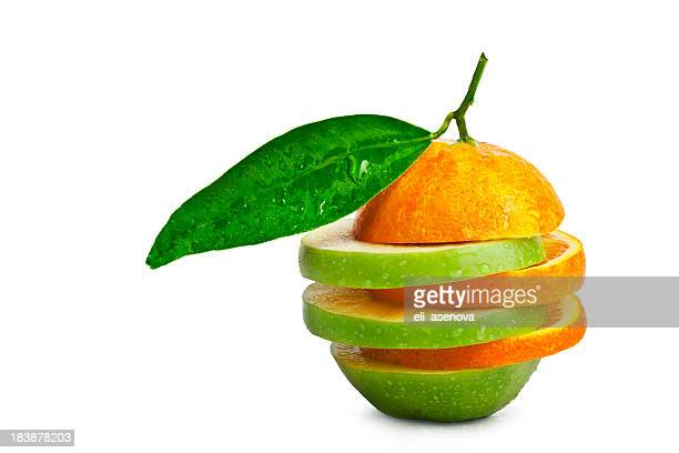りんごオレンジの比較