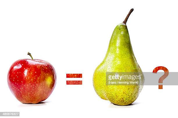 Comparing Apples to Pears