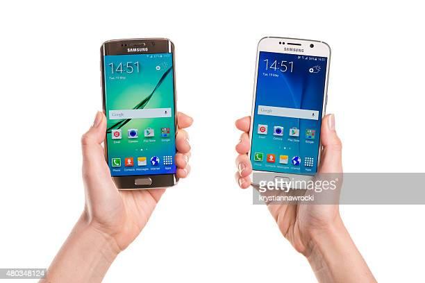 比較 Galaxy S 6 との Galaxy S 6 エッジ