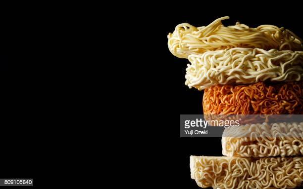 comparison of instant noodles - ramen noodles stock pictures, royalty-free photos & images