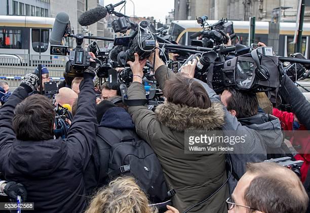 Comparution en Chambre du Conseil de Bruxelles Sven Mary avocat de Salah Abdelslam Raadkamer van Brussel Sven Mary advocaat van Salah Abdelslam...