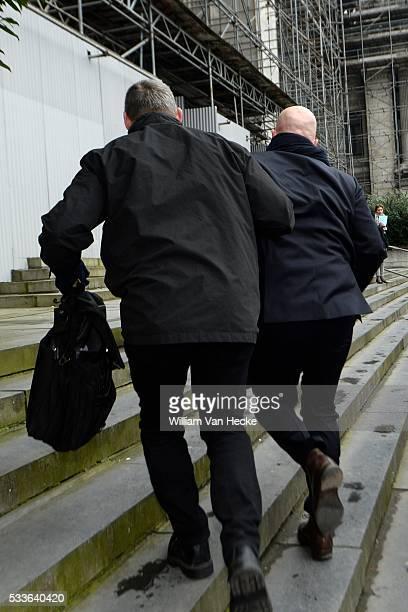 Comparution en Chambre du Conseil de Bruxelles Sven Mazry avocat de Salah Abdelslam Raadkamer van Brussel Sven Mary advocaat van Salah Abdelslam...