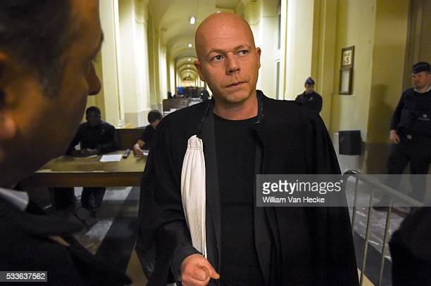 Comparution en Chambre du Conseil du hollandais Jelle F soupçonné d'avoir attaqué une femme de ménage avec de l'acide dans un magasin Delhaize...