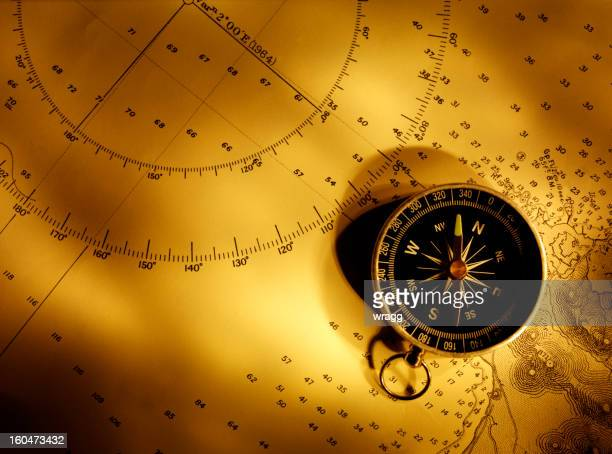 compass bearings - navigational equipment stock pictures, royalty-free photos & images