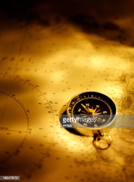 Compass on a Chart