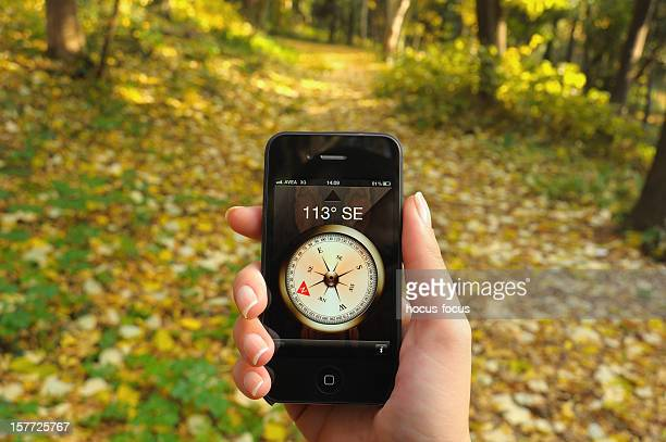 Compass on iPhone 4