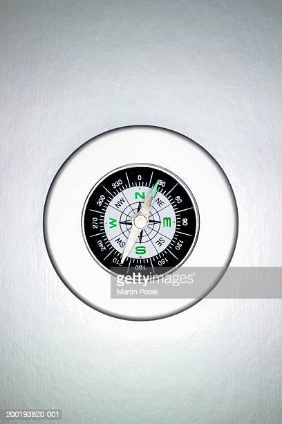 Compass, overhead view