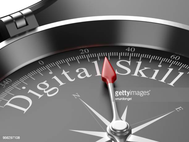Compass Pointing to Digital Skill