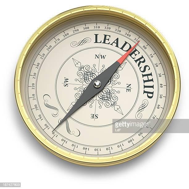 Compass pointant au Leadership en direction de