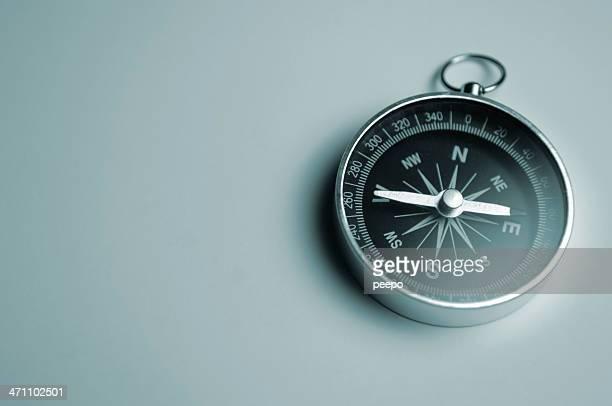 kompass-serie - westen stock-fotos und bilder