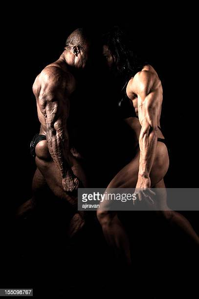 Competing Bodybuilders