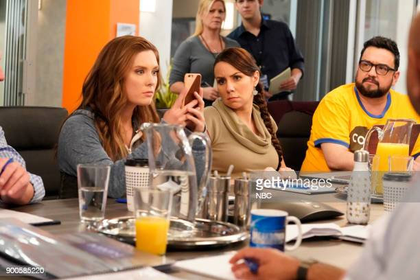 NEWS 'Competing Offer' Episode 211 Pictured Briga Heelan as Katie Wendelson Tracey Wigfield as Beth Vierk Horatio Sanz as Justin
