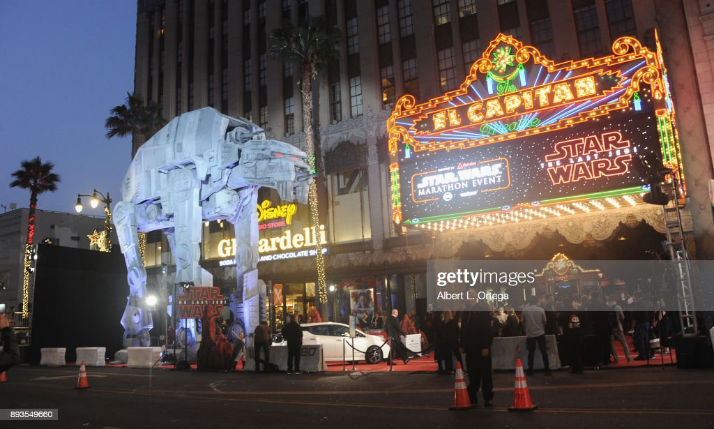 "Opening Night Celebration Of Walt Disney Pictures And Lucasfilm's ""Star Wars: The Last Jedi"" At TCL Chinese Theatre : News Photo"