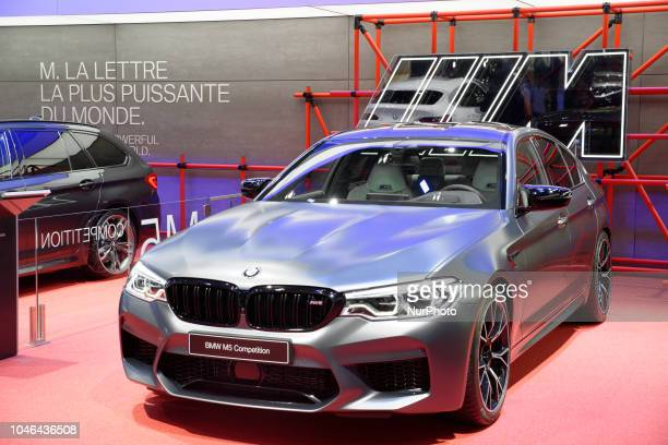 Competition during Mondial Paris Motor Show in Paris France on 4 October 20178 The Mondial Paris Motor Show Paris 2018 evolves with the new...