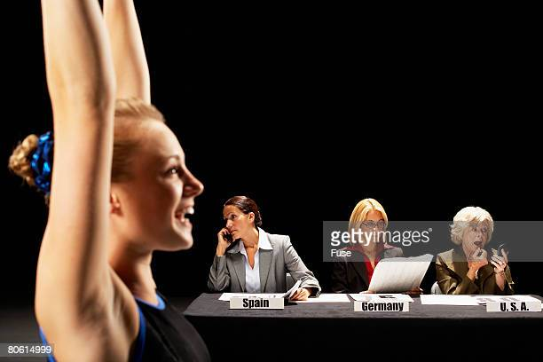 Competition Judges Ignoring Gymnast