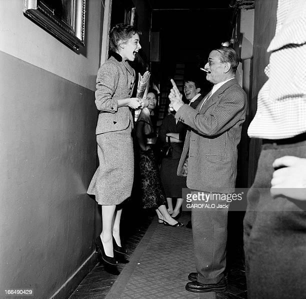 Competition Of The Tragedy And Comedy Conservatory In Paris Paris Juillet 1953 les coulisses du concours du conservatoire de tragédie et de comédie...