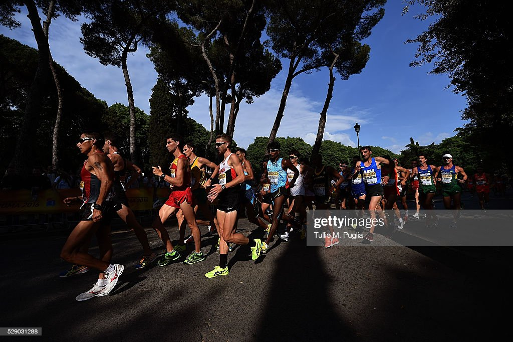 IAAF World Race Walking Team Championships - Day One : News Photo
