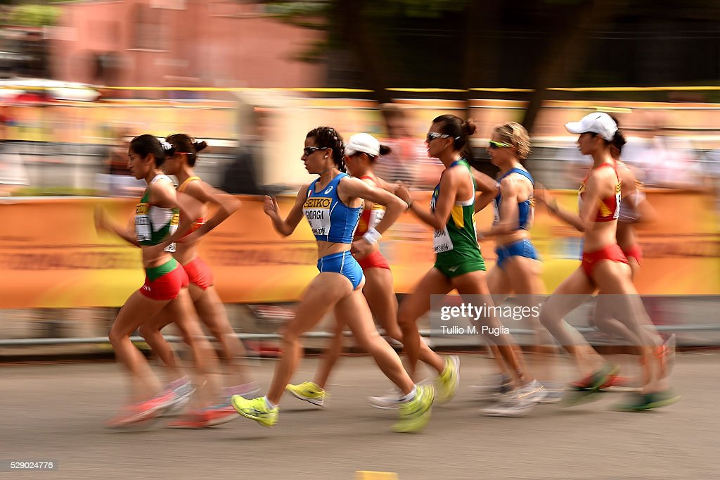 IAAF World Race Walking Team Championships - Day One : News Photo