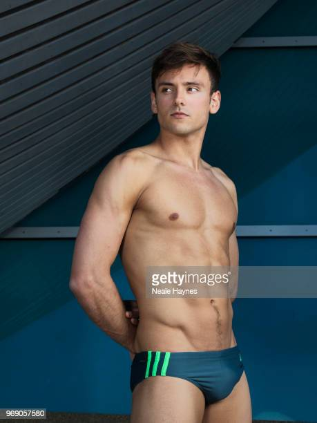 Competitive diver Tom Daley is photographed for the Times on April 20 2018 in London England