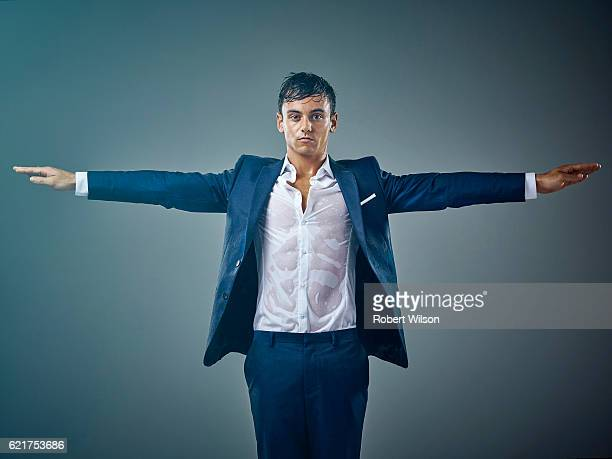 Competitive diver Tom Daley is photographed for the Times on May 18, 2016 in London, England.