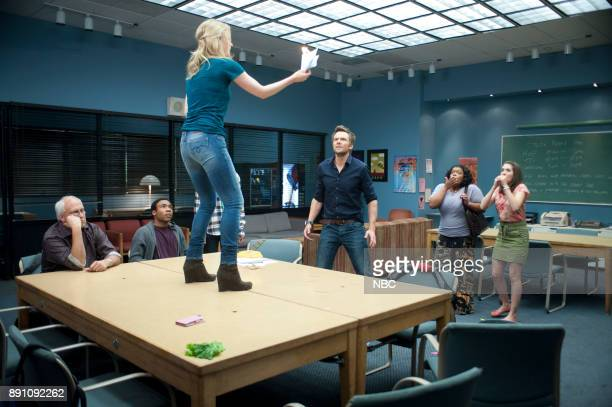 COMMUNITY 'Competitive Ecology' Episode 304 Pictured Chevy Chase as Pierce Donald Glover as Troy Gillian Jacobs as Britta Joel McHale as Jeff Yvette...