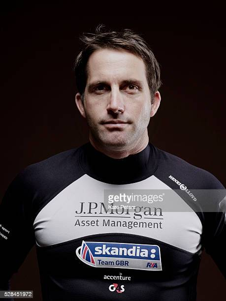 Competitive sailor Ben Ainslie is photographed for the Guardian on August 14 2010 in London England