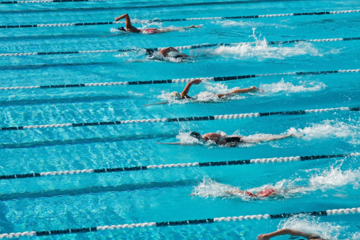 Competitive Swimming 140469717