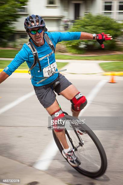 Competitor at the National Unicycling Championships Criterium