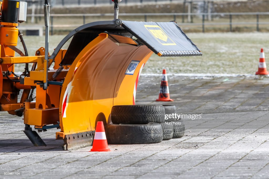 International Snow Plough Competition in Gdansk
