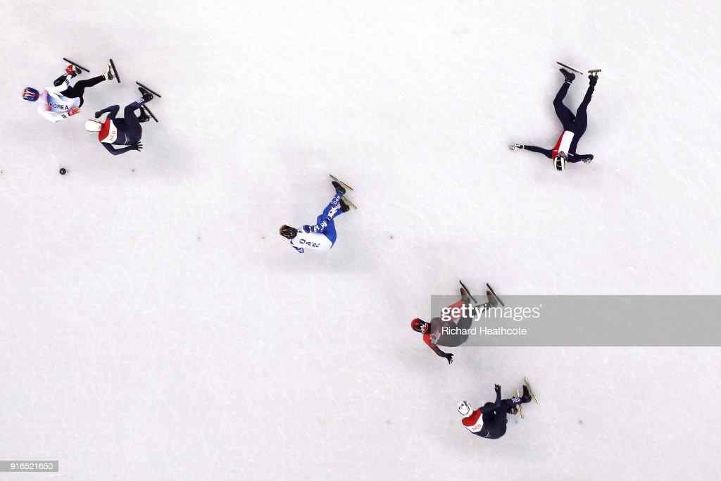 Short Track Speed Skating - Winter Olympics Day 1 : News Photo