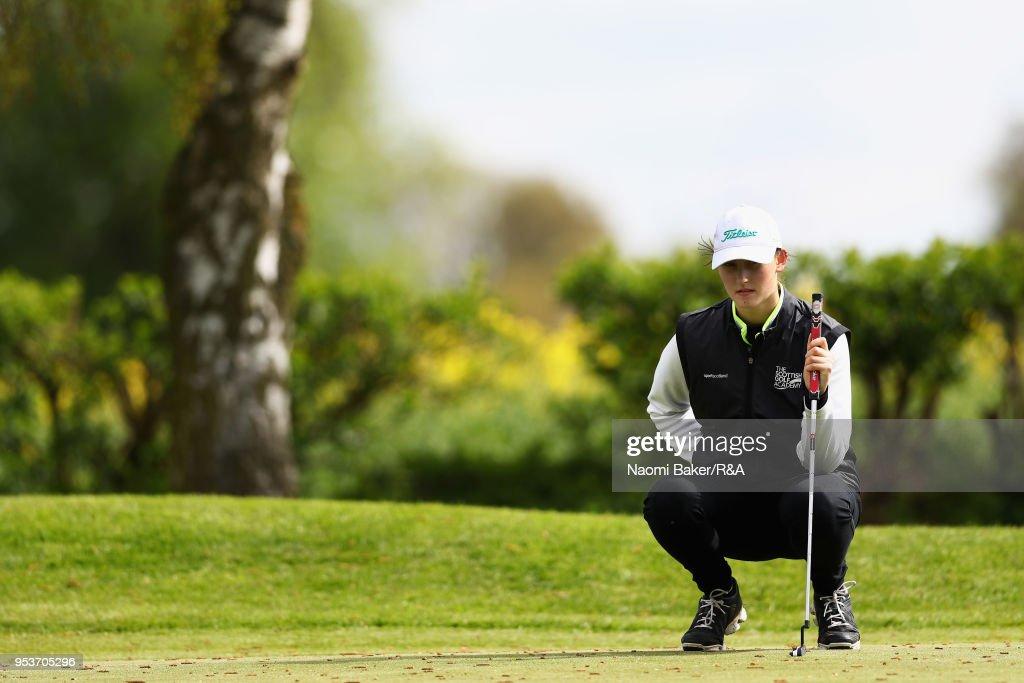 Girls' U16 Open Championship - Day Three : News Photo