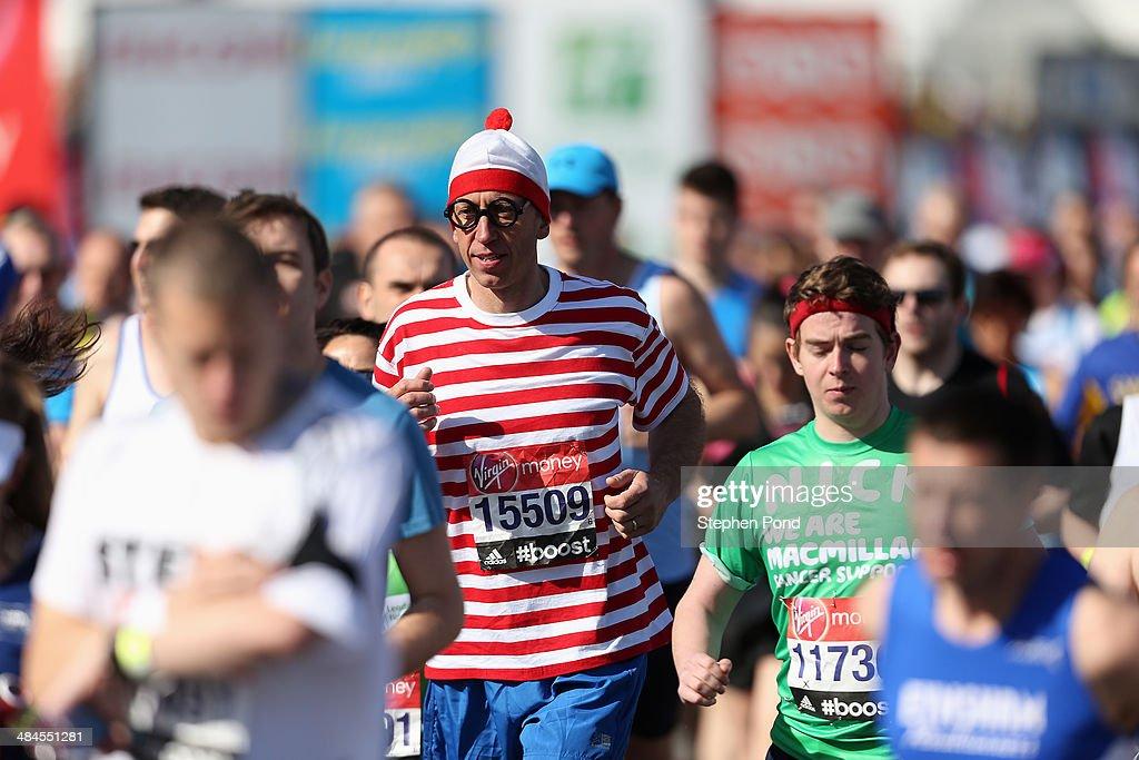 Virgin London Marathon : ニュース写真