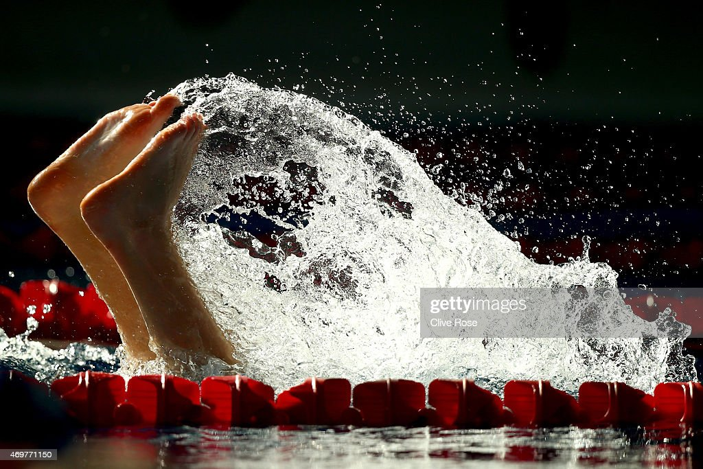 British Gas Swimming Championships 2015: Day Two : News Photo