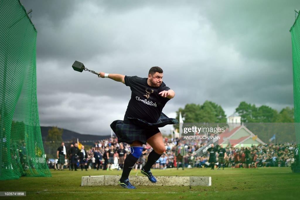 BRITAIN-SCOTLAND-HIGHLAND GAMES-ROYALS : News Photo