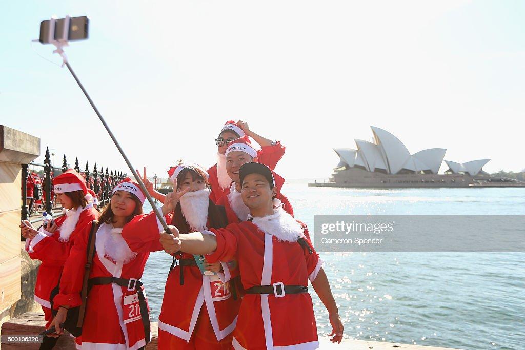 Variety Santa Fun Run : News Photo