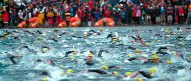 Image result for lake taupo swimmers in ironman