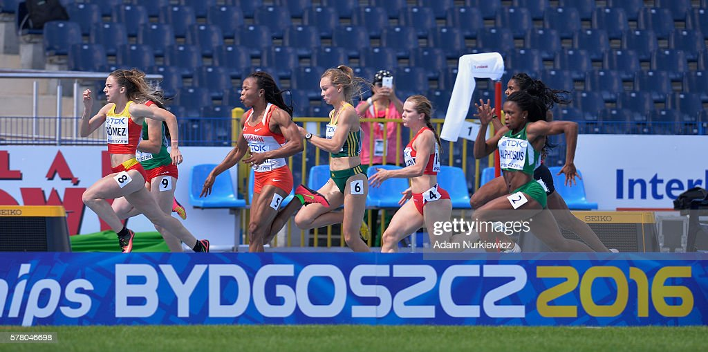 IAAF World U20 Championships - Day 2 : Nieuwsfoto's