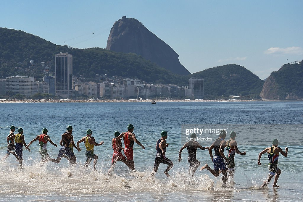 ITU World Olympic Qualification Event - Aquece Rio Test Event for Rio 2016 Olympics : News Photo