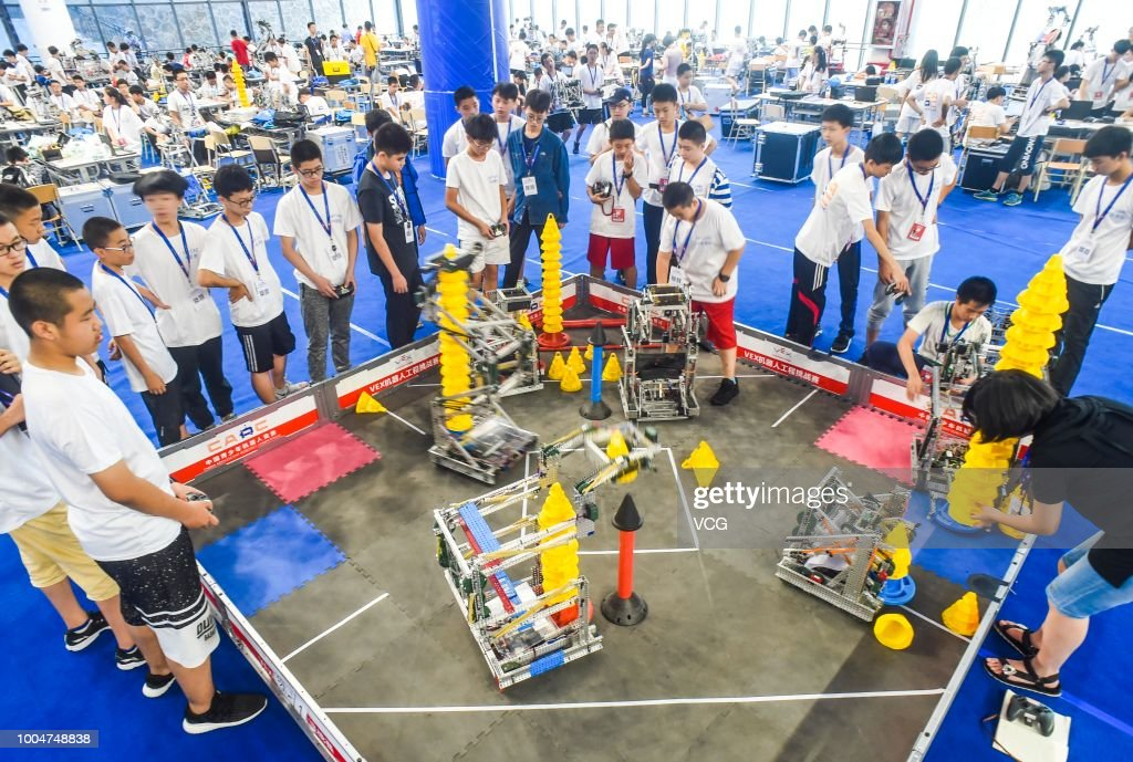 18th China Adolescent Robotics Competition & World Adolescent Robot Contest 2018