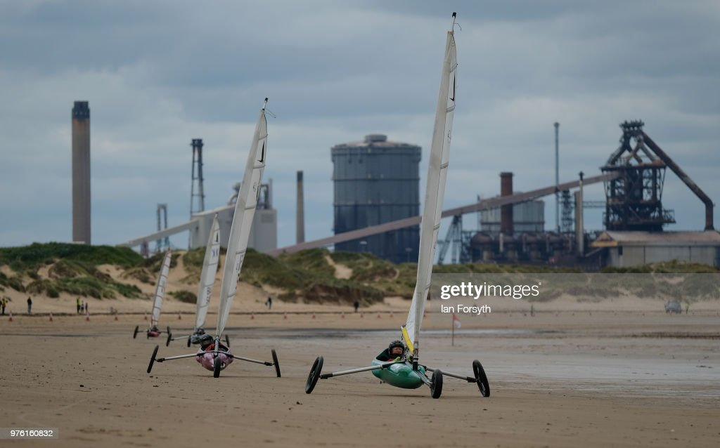 Redcar Hosts A Land Sailing Regatta